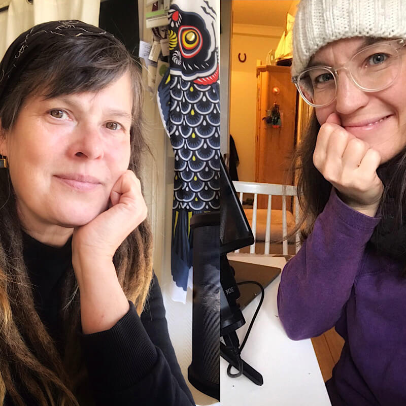 Sprecherinnen Nina Gebke und Stephanie Hüllmann